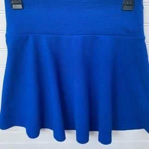 Forever 21 Blue Skirt Size Small